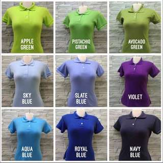 Women's plain polo shirt / Made to order and personalize