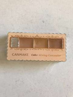 CANMAKE colour mixing concealer #1