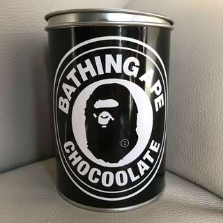 Chocoolate X Bathing Ape 鐵罐