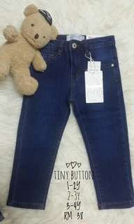 Tiny Button Jeans