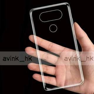 (8蚊2個) lg v20 水晶套 透明套 保護套 膠套 LG V20 透明軟套 保護 手機 不會刮花 不會入塵 lg v20 套 水晶軟套 TPU套 v20 軟套 v20 手機套 v20 透明套
