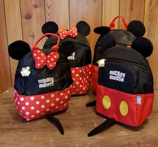 Mickey Minnie mouse backpack baby  toddler cute