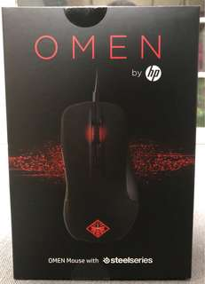 HP電競滑鼠Gaming mouse(Omen Steel Series)