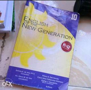 Grade 10 English of the New Generation