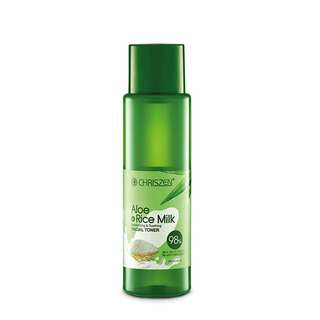 Open Jastip CHRISZEN Products (98% ALOE VERA & RICE MILK FACIAL TONER)