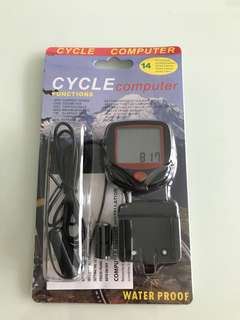 Cycle Computer Speedometer