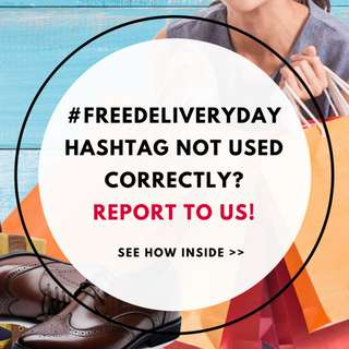 Report Violations: Free Delivery