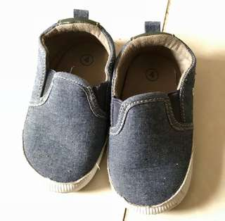 F&F baby slip on shoes