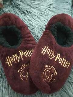 Harry Potter fluffy slippers