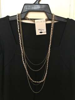 Forever 21  5-chain necklace