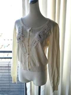 🚚 Ocean Girl 縫珠針織衫