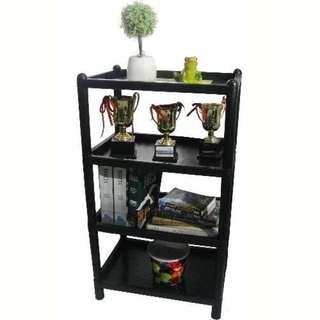 Rectangular Utility Rack 4 Layer (Black)