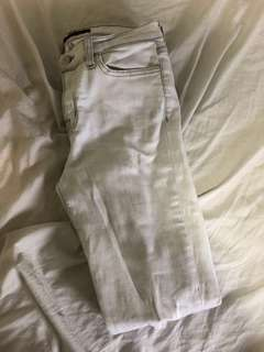 Jbrand white-grey ripped jeans size 28