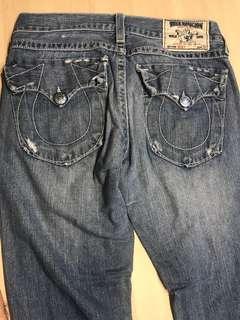 True Religion Jeans Waist 32 Length 33