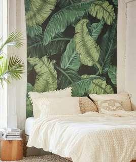 BOHO leaf tapestry
