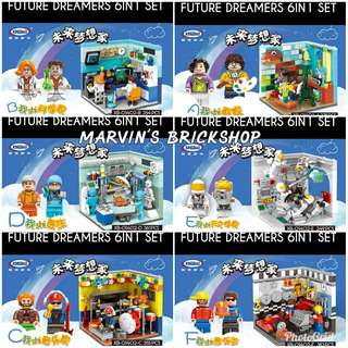 SALE! Future Dreamer 6in1 set Building Block Toys