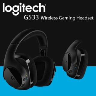Logitech G533 DTS 7.1 SURROUND SOUND WIRELESS GAMING HEADPHONE