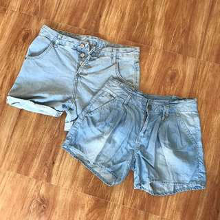 Highwaist Shorts Bundle