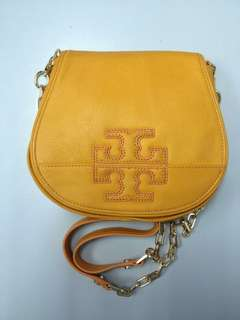 Authentic Tory Burch Stacked T Mini Logo Clutch
