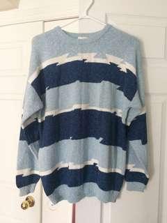 Lecomte blue sweater