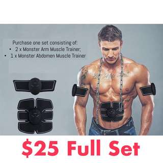 🚚 ♦️EMS technology home gym muscle stimulation for abs and muscles