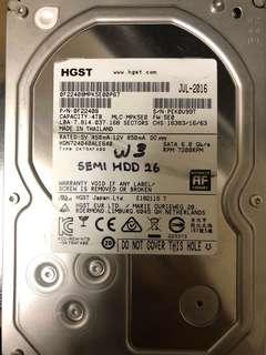 4TB Hard Disks ( Seagate and Hitachi) (Tested)
