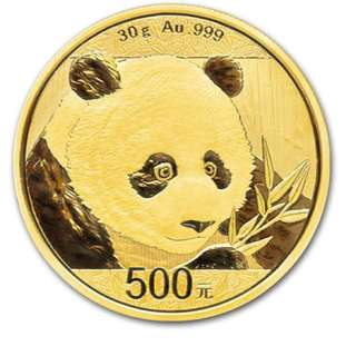 China Panda Gold Coin 2018