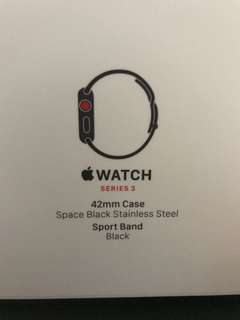 Apple Watch 3 LTE 42mm Series 3 Stainless Steel Limited 4G