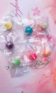 🚚 迷你彩球糖 婚禮喜糖 單顆包裝 500g