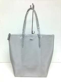 Authentic Lacoste L.12.12.12 Concept Metallic Vertical Tote