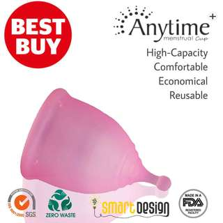 ✅⭐️High Capacity Anytime Menstrual Cup Plus