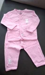 Baby Pink Sleepsuit