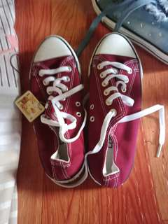 Converse shoes and denim shoes for adult /ladies