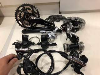 Shimano M780 Deore XT 3 x 10 Speed Groupset
