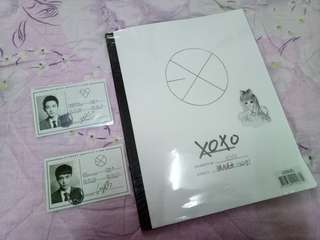 EXO XOXO chinese (Chanyeol, Lay pc)