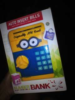 Toy bank atm