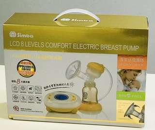 電動擠乳器《小獅王辛巴》LCD超靜音八段電動吸乳器 (買就贈送母乳保鮮袋)此商品還在保固內!商品9成5新,要買要快喔!!