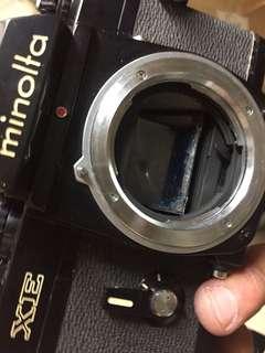 🚚 底片 單眼相機 Minolta XE 黑機