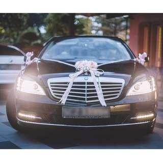 Ready Stock - DIY bridal car decoration
