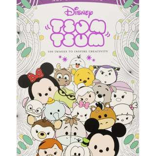 Disney Tsum Tsum 100 Images to Inspire Creativity ( Disney Tsum Tsum )(Art of Coloring) [Paperback]