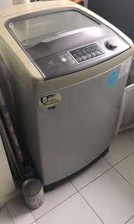 Washing Machine - 10kg Topload, Diamond Drum