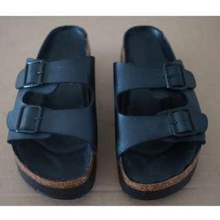 Summer Sandals Black 39