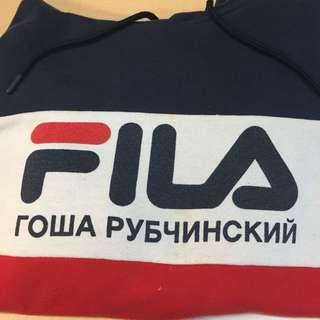 Fila x Gosha Rubchinskiy hoodie size M