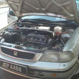 Honda city 1.3 manual