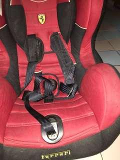 Baby Car Seat Ferrari brand