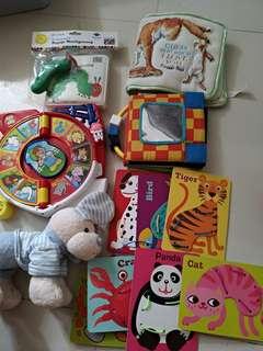 嬰兒玩具,布書,沖涼書