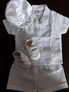 BOY BAPTISMAL CLOTHES