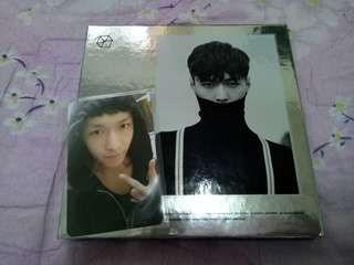 EXO Lay EXODUS silver/chinese