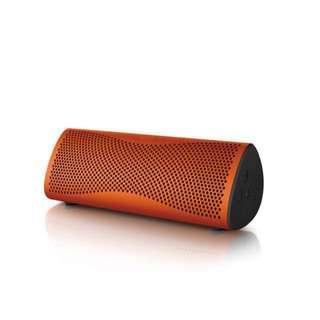 KEF MUO Wireless Speaker Sunset Orange (New)