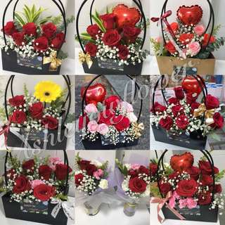 Flower Anniversary Flower Surprise